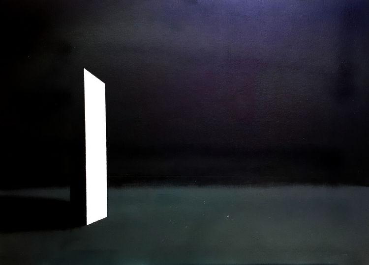 Dunkel, Licht, Hell, Malerei