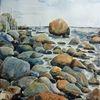 Ostsee, Aquarell, Landschaften