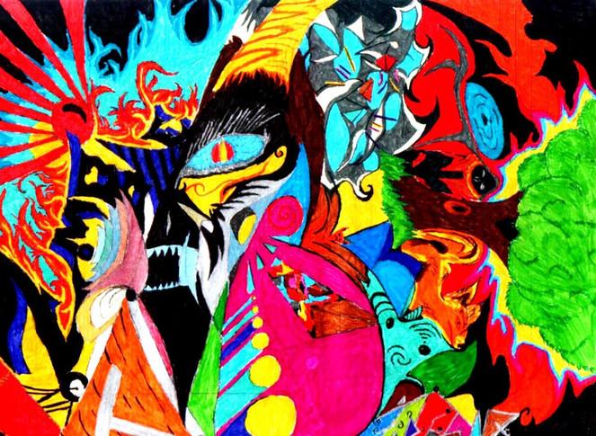 Malerei, Zombie