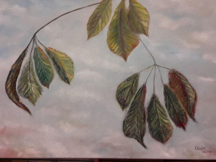 Baum, Frühling, Krank, Tod, Kastanien, Umwelt