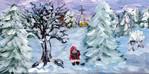 Wentower Weihnachtswald - lärchenholz mantel stiefel weihnachten winterwald