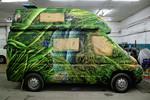 Caravan Verwandlung - das Dschungelmotiv - caravan dschungel