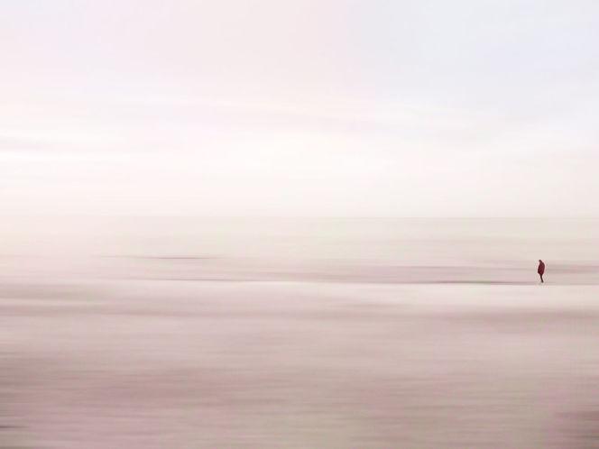 Strand, Horizont, Frieden, Rauschen, Himmel, Wolken