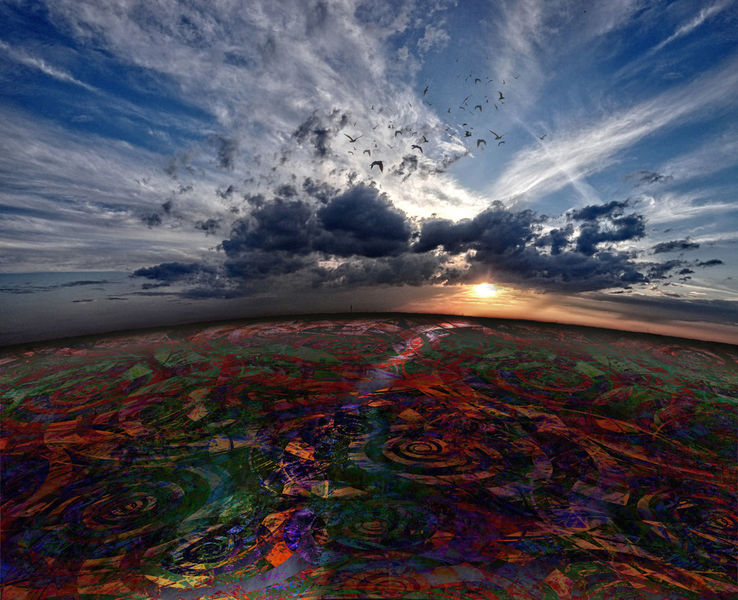 Erde, Nacht, Orange, Abend, Fotografie, Himmel