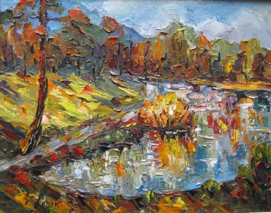 Malerei, Oktober