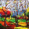 Herbstlich Bäume -
