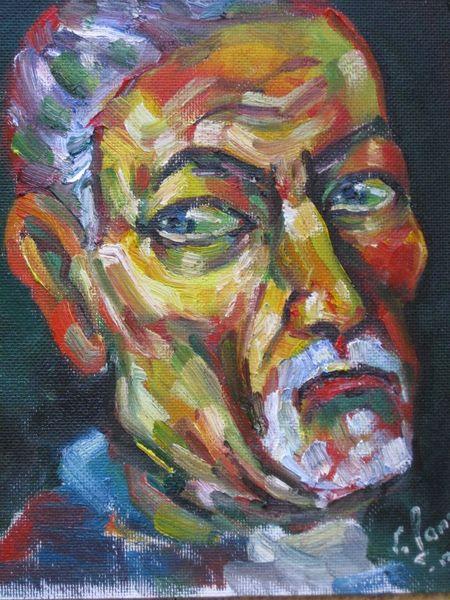 Malerei, Selbstportrait