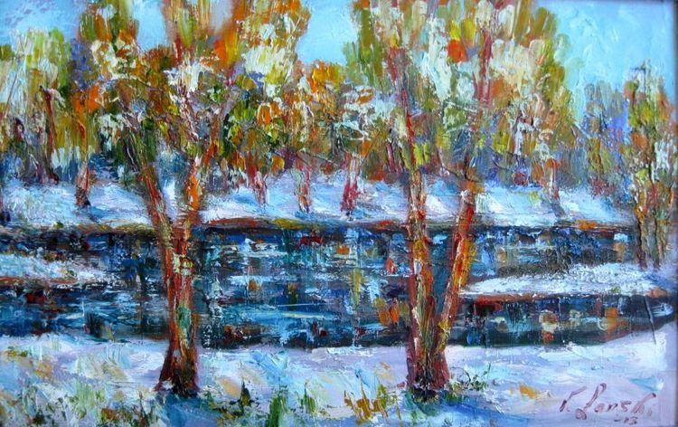 Malerei, Schnee, Teil
