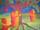 Versuchung, Abstrakt, Harmonie, Malerei