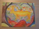 Urwald, Aquarellmalerei, Bilderbuch, Luchs