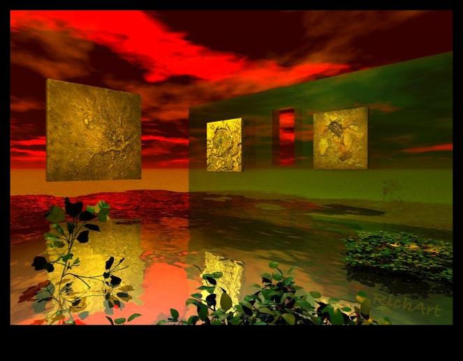 Digitale kunst, Surreal, Schweben