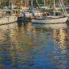 Wasser, Wasserspiegelung, Segelboot, Impressionismus