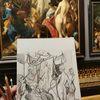 Apellesmaltcampaspe, Skizze, Joosvanwinghe, Gemälde