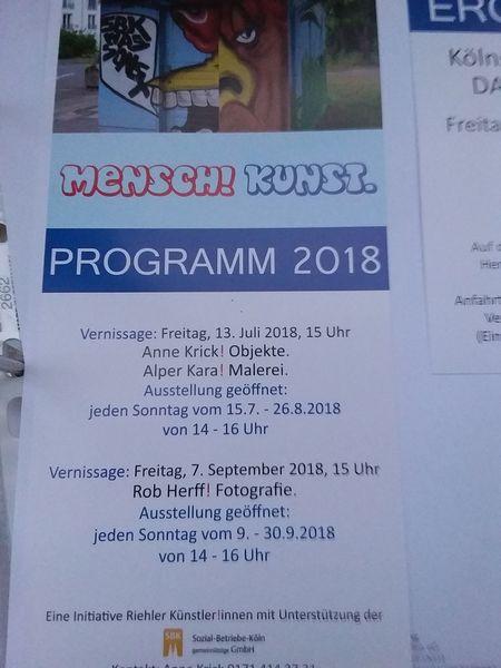 Ausstellung, Einladung, Pinnwand,