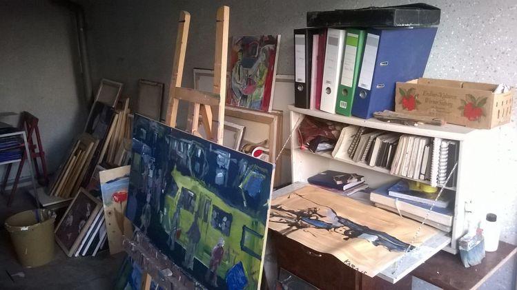 Mein arbeitsraum, Pinnwand