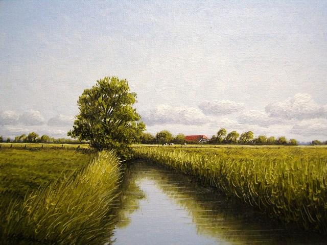 Weite, Friesland, Ostfriesland, Malerei