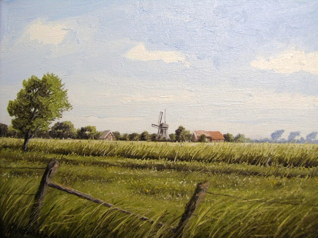 Weite, Friesland, Ostfriesland, Malerei, Landschaft