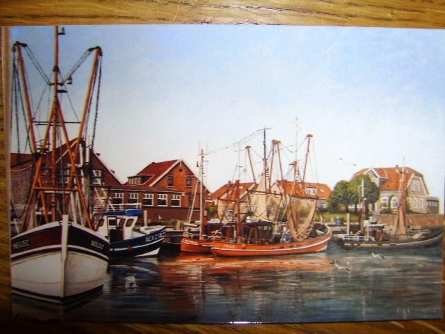 Hafen, Weite, Nordsee, Ostfriesland, Friesland, Watt