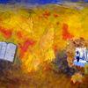 Fotografie, Acrylmalerei, Rilke, Farben