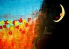 Acrylmalerei, Tod, Frau, Farben