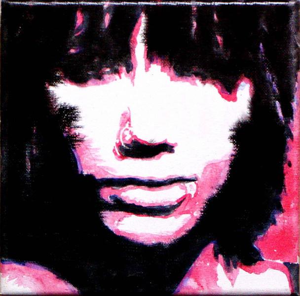 Portrait, Acrylmalerei, Frau, Malerei
