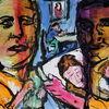 Ausdruck, Farben, Menschen, Expressionismus