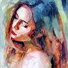 Gesicht, Portrait, Ausdruck, Farben