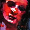 Menschen, Rot, Gesicht, Figurativ