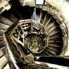 Treppe turm stufen, Fotografie, Treppe