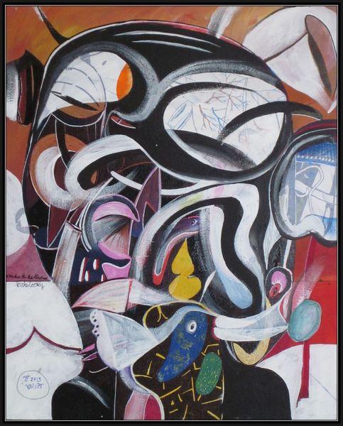 Figurativ, Surreal, Malerei, Malerei und grafik, 2013