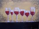 Glas, Rustikal, Stillleben, Weingläser