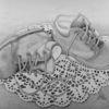 Schuhe zeichnen, Bleistiftzeichnung, Zeichnung, Kinderschuhe