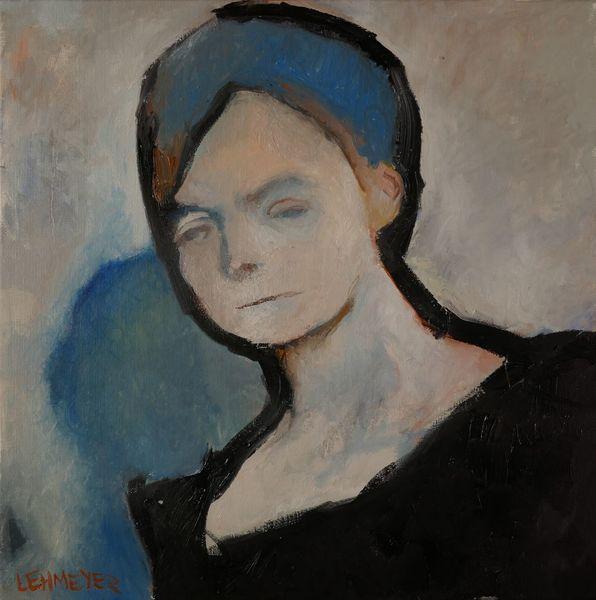 Schatten, Frau, Malerei