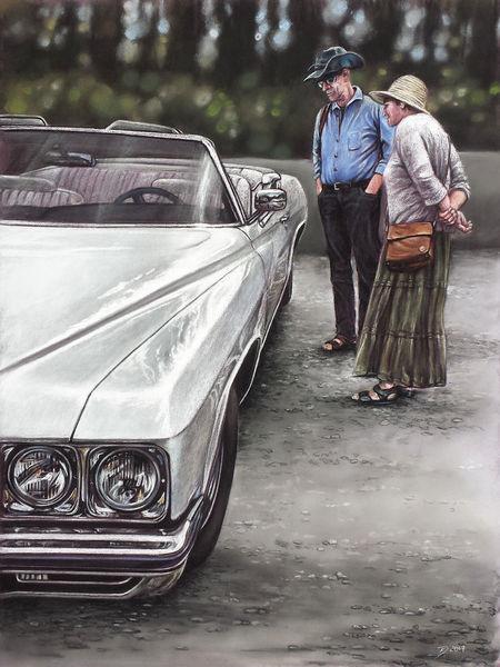 Carshow, Auto, Cadillac, Weiß, Oldtimer, Classic car