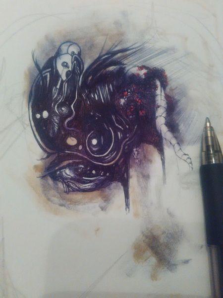 Gshisn, Zeichnungen,