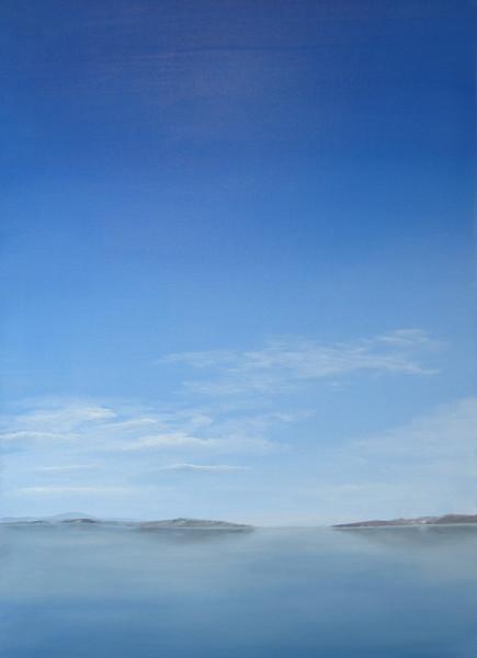 Meer, Malerei, Himmel, Realismus, Ölmalerei, Wasser