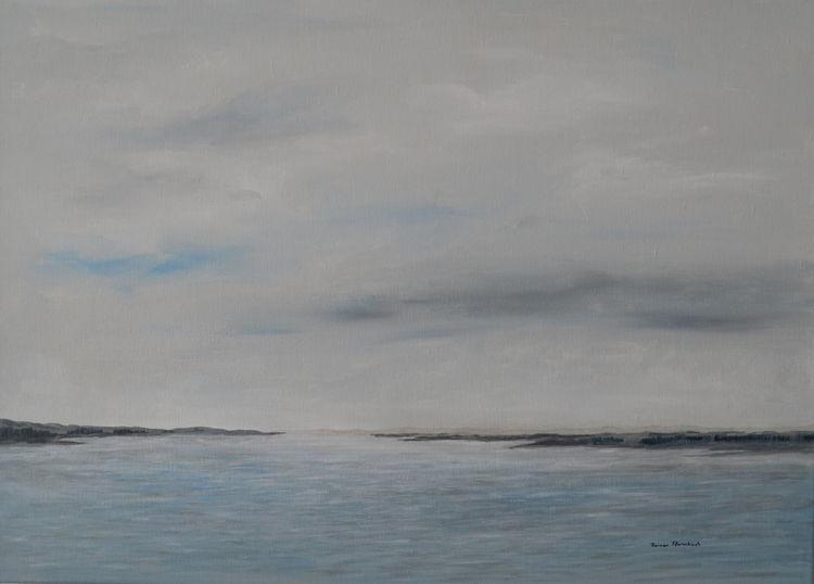 Traum, Realismus, Fantasie, Himmel, Malerei, Wasser