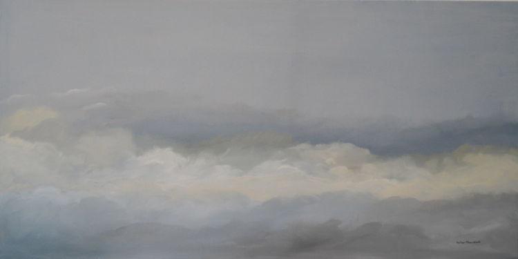 Malerei, Himmel, Natur, Stimmung, Traum, Wolkenreise
