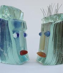 Glas, Gasskulptur, Fusingglas, Kunsthandwerk