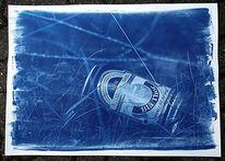 Cyanotype, Monochrom, Blau, Skandinavien