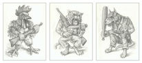 Krieger, Martialisches gehabe, Feindschaft, Konkurenz