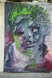 Psychologie, Modern, Abstrakt, Malerei