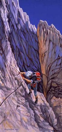 Landschaftsmalerei, Ölmalerei, Bergbilder, Zeichnungen