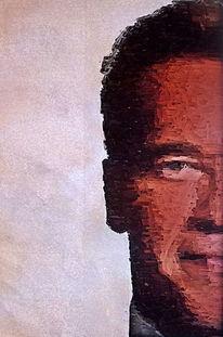 Schubertj73, Arnold schwarzenegger, Digitale kunst, Malerei