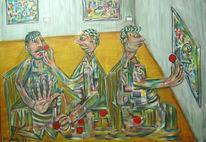 Galerist, Rot, Berlin, Nase