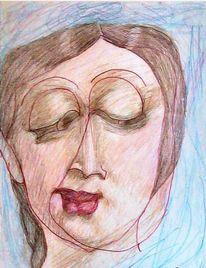 Portrait, Berlin, Zeichnungen,