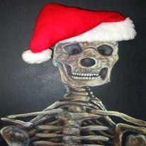 Weihnachten, Berlin, Weihnachtsmann, Illustrationen