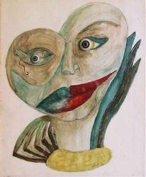 Berlin, Depression, Erlebnis, Portrait