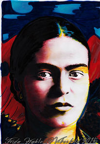 Frida kahlo, Pop art, Malerei