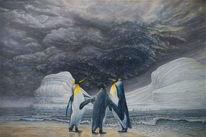 Tiere, Quanten, Arktis, Pinguin